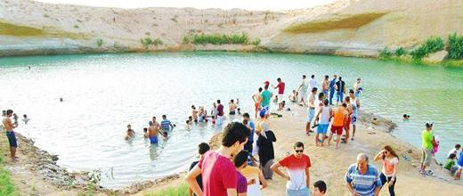Lake Mysteriously Appeared Suddenly in the Gafsa Region of the Tunisian Desert