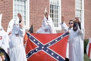 KKK Arrives In Ferguson to Support Their 'Hero' as the Hate Heats Up