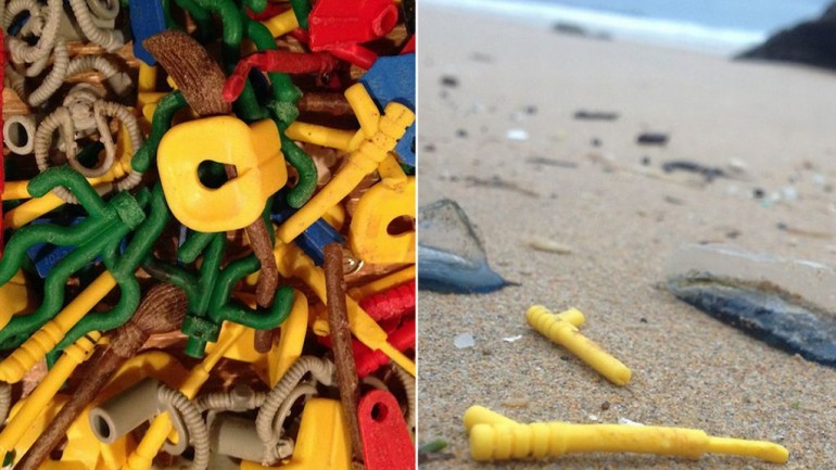 Mysterious Lego Pieces Continue to Wash Ashore in England After 17 Years