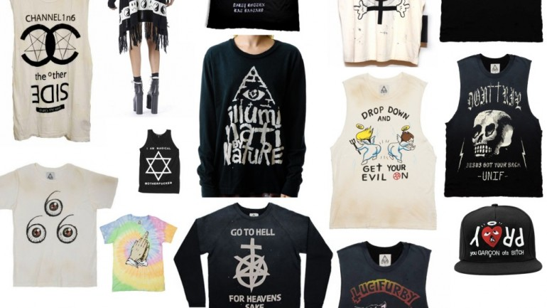 The Widespread Use of Inverted Esoteric Symbols in Fashion