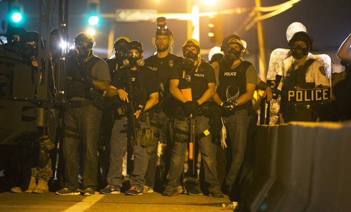 Pentagon Supplied St. Louis County Police with Military-Grade Weapons