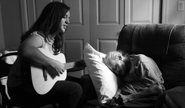 Music Therapy Helps The Dying