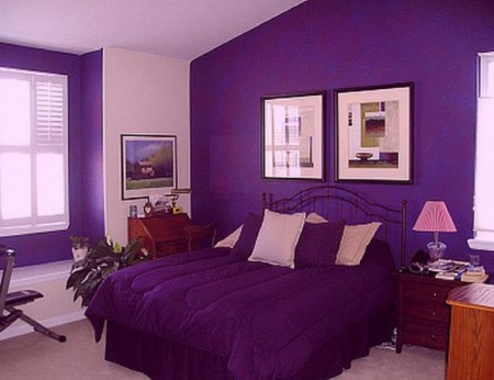 Cute-Purple-Bedrooms-Interior-Design-Idea