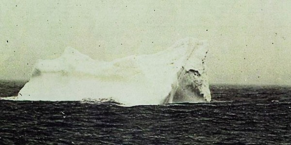 The iceberg that sunk the Titanic, 1912 2