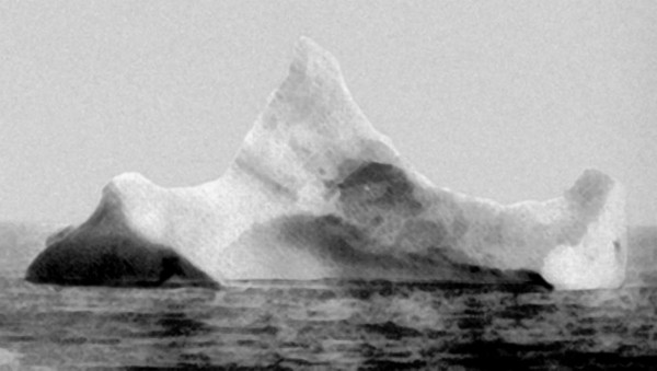 The iceberg that sunk the Titanic, 1912
