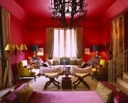 red-paint-color-ideas-to-make-interior-classic