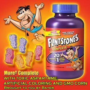 Top Children's Vitamins Full of Aspartame, GMOs & Harmful Chemicals