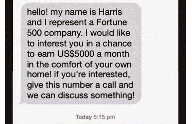 Man Receives Text Scam His Reaction He Sends Back The Best Reply Ever