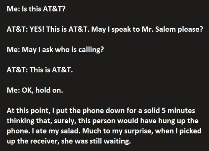 This Is The Best Phone Call Ever. Pure Genius (1)