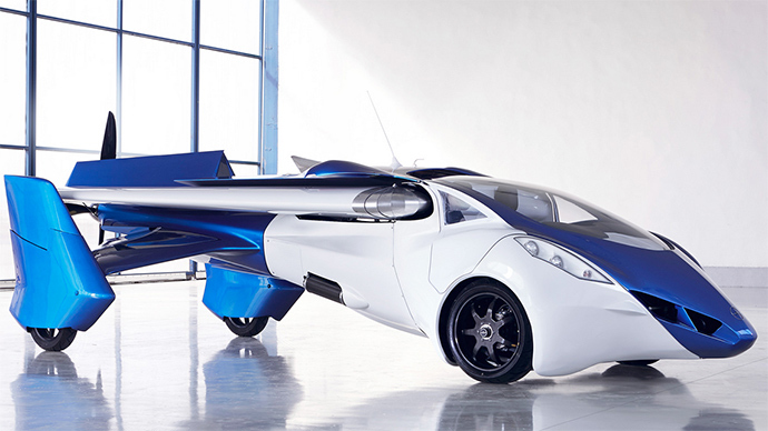 First Transformer Flying Car Ready For Production