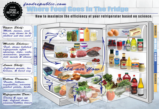 where food goes in the fridge why you should stop