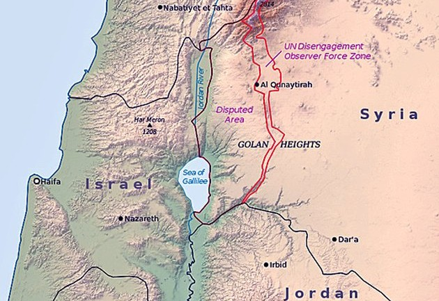 Israel Grants First Golan Heights Oil Drilling License To Dick Cheney-Linked Company