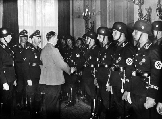 a report on the damage carried out by the nazi criminals under the rule of adolf hitler Most americans would agree that the nazi regime founded by adolf hitler in the used by nazi war criminals to justify routinely carried out on.
