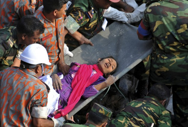 rescuers-pull-out-a-female-survivor-reshma-alive-16-days-after-a-garment-factory-building-collapsed-in-bangladesh