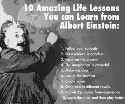 10 amazing lessons from einstein