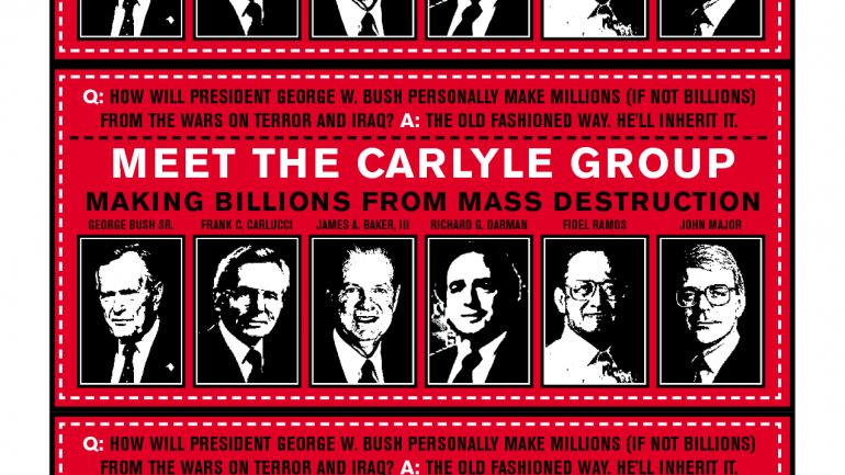 Carlyle Group: Anatomy of a Scam