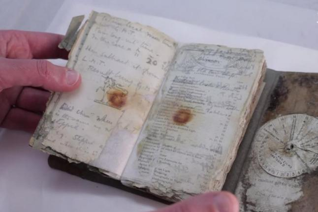 Century-old-notebook-reveals-details-of-ill-fated-Antarctic-expedition