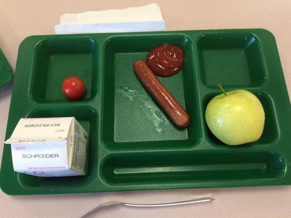 Thanks, Michelle Obama! Students Everywhere Are Tweeting Their Grossest Lunch Pics