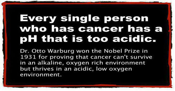 PH Levels in The Blood Can Cure Cancer, or Be The Cause of It