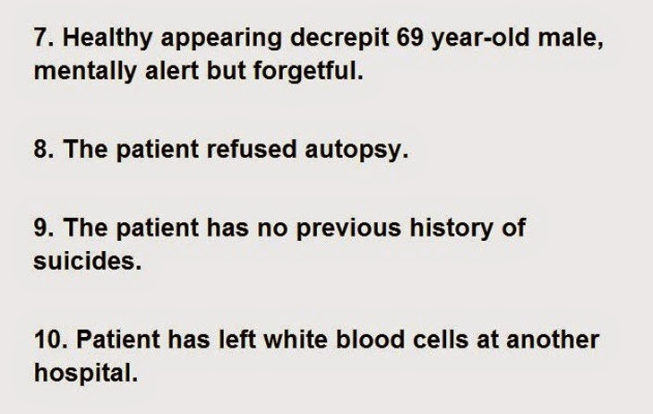 These 30 Sentences Were Actually Found In Patients Hospital Charts (2)