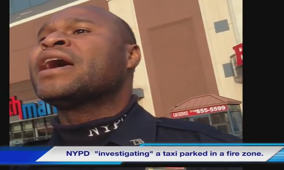 """Power Tripping NYPD Cop Tells Man, """"Your First Amendment Ends Right Here!"""""""