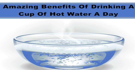 Amazing Benefits Of Drinking A Cup Of Hot Water A Day