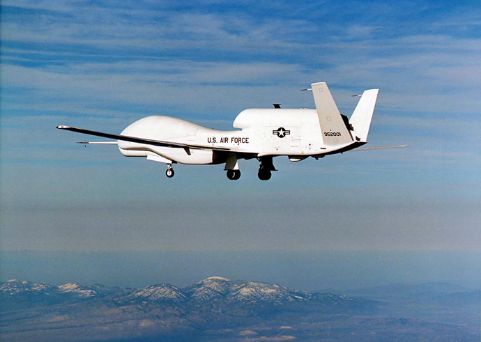 US-UNMANNED PLANE-GLOBALHAWK
