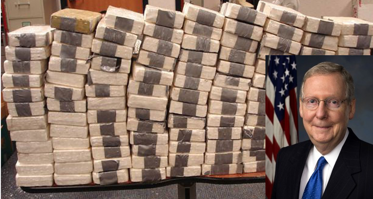 90 Pounds Of Cocaine Found On Cargo Ship Owned By Anti-Drug Senator's Family