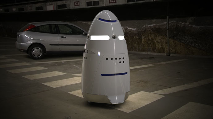 5 Foot Tall 'Robocops' Start Patrolling Silicon Valley