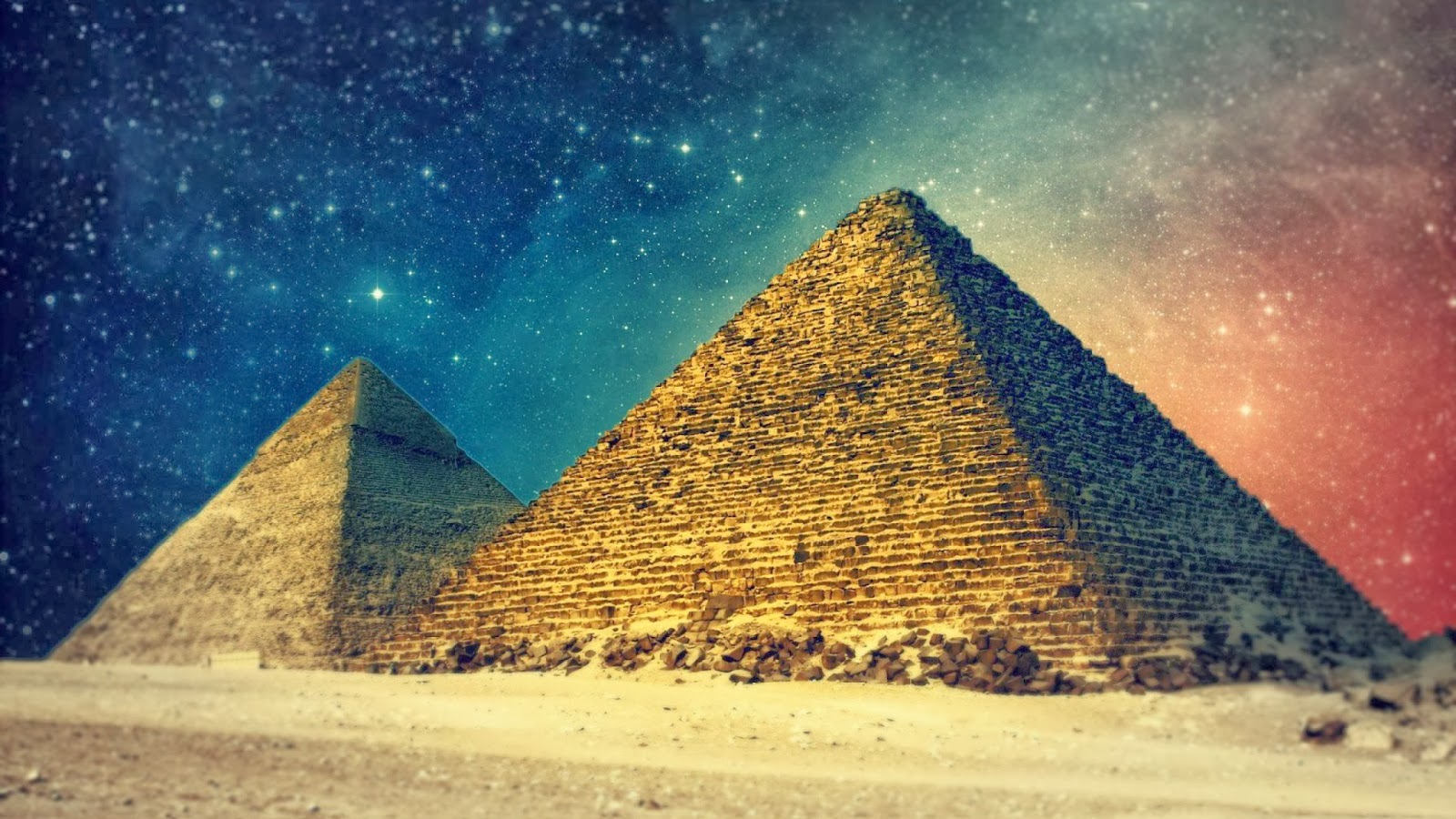 the great pyramids as art