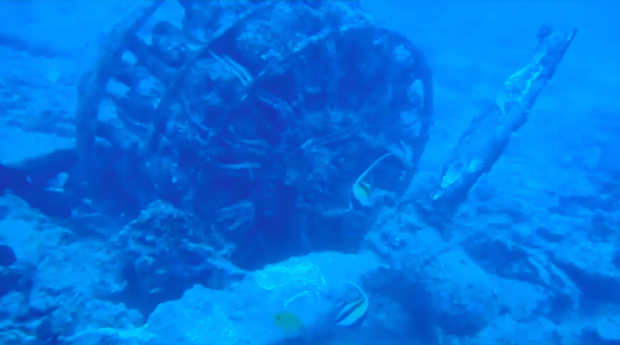Remarkable Underwater Discovery Called a 'Very Important Part of What Happened in World War II' Hawaii1-620x345