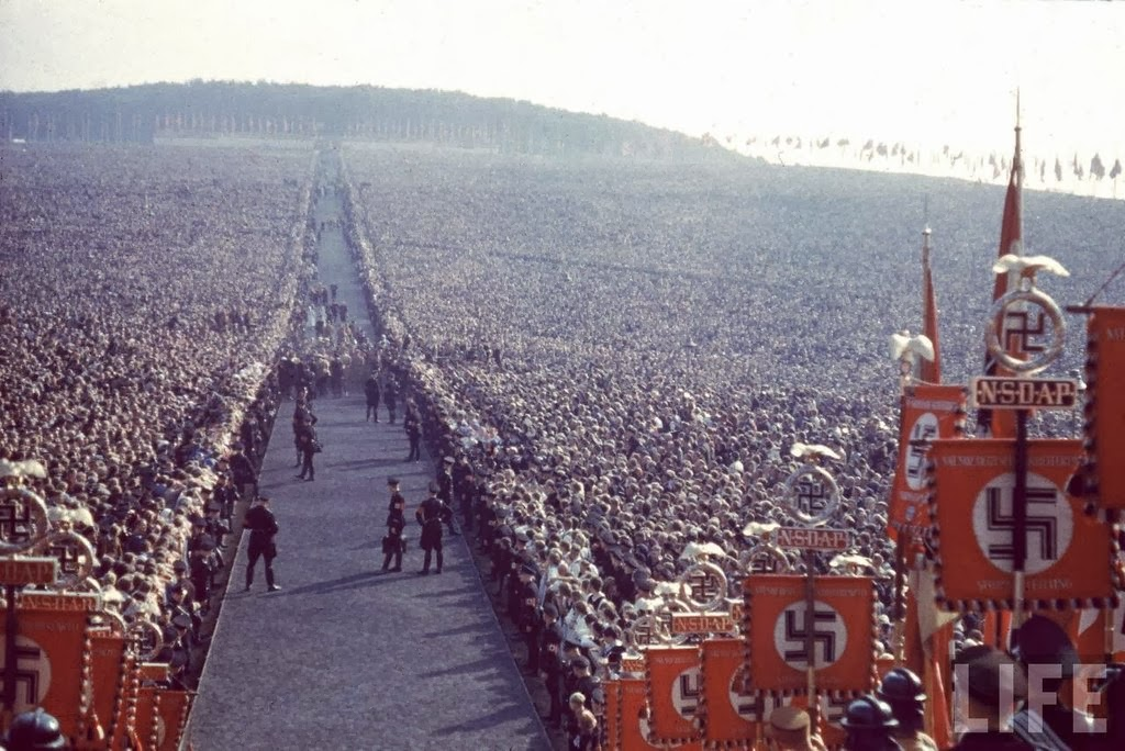 Nazi rally at Nuremberg in 1937