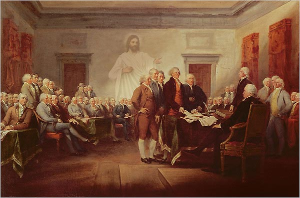 the separation of powers as created by the founding fathers in america In congress, july 4, 1776 the unanimous declaration of the thirteen united states of america, when in the course of human events, it becomes necessary for one people to dissolve the political bands which have connected them with another, and to assume among the powers of the earth, the separate and equal station to which the laws of nature and of nature's god entitle them, a decent respect to .