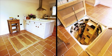 This Man Put A Secret Window On His Kitchen Floor. The Reason GENIUS! (10)