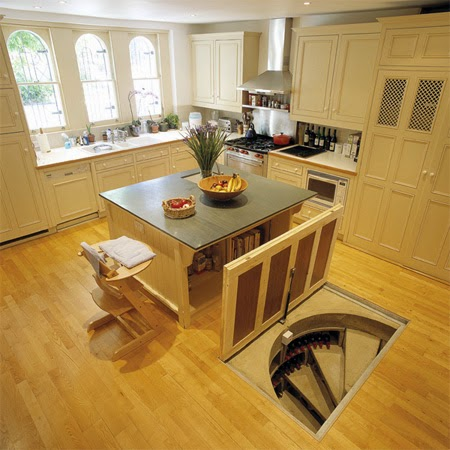 This Man Put A Secret Window On His Kitchen Floor. The Reason GENIUS! (9)