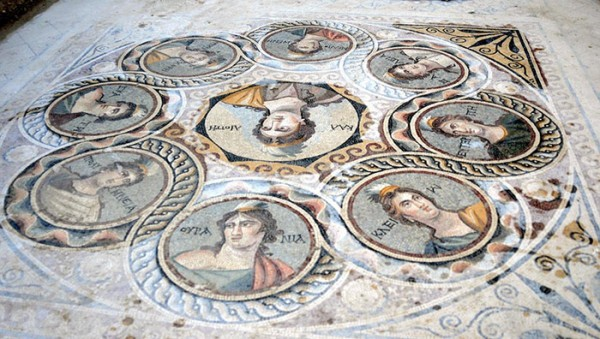 2000 Year-Old Mosaics Were Uncovered by Archaeologists in the Turkish City of Zeugma