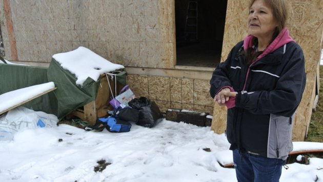 Homeless Woman Fined for Building Her Own Home