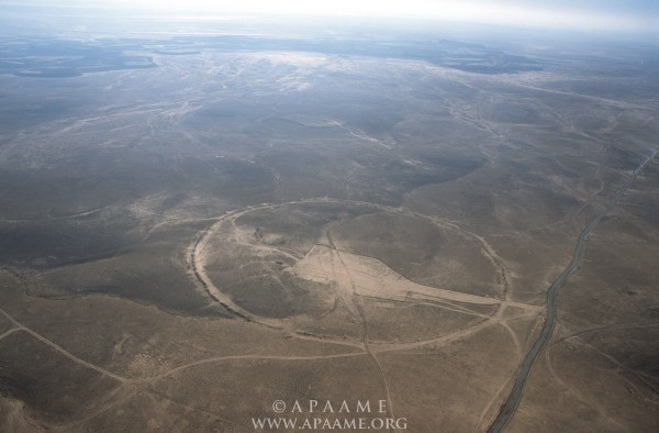 Ancient Stone Circles in Mideast Baffle Archaeologists Big-circles-mideast-5-e1418546643985