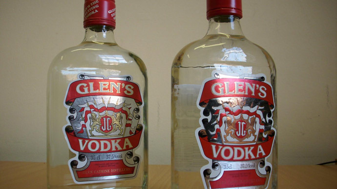 Deadly Fake Vodka Hits Shelves