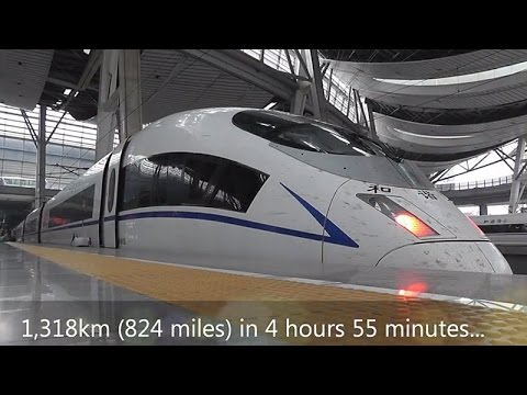 Moscow To Beijing in 2 Days: China To Build $242Billion High-Speed Railway
