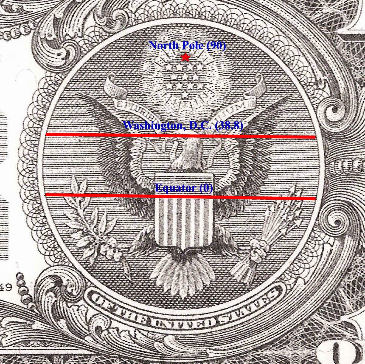 There Is An Encoded Map On The Dollar Bill and You Are Not Going To Believe Where It Leads