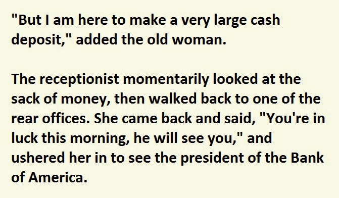 Old_Lady_Enters_Bank_With_A_Bag_Of_Cash._How_She_Got_It_I_Can_t_Stop_Laughing (2)