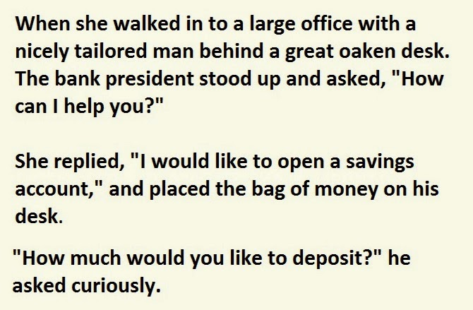 Old_Lady_Enters_Bank_With_A_Bag_Of_Cash._How_She_Got_It_I_Can_t_Stop_Laughing (3)