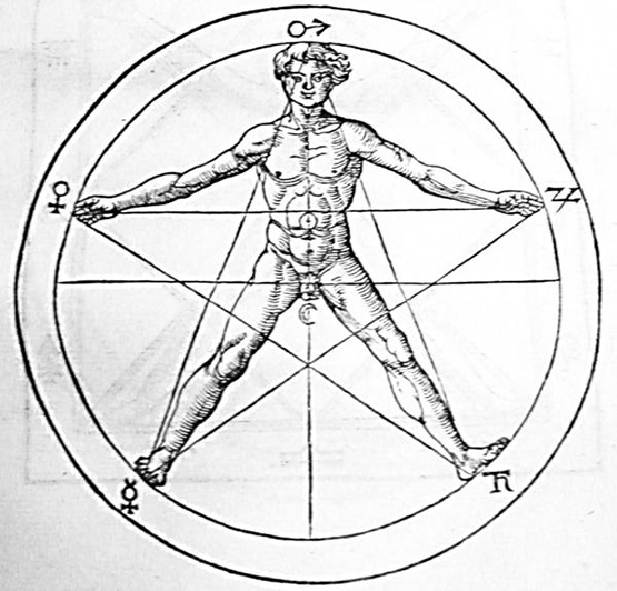 Pentagram_and_human_body_Agrippa