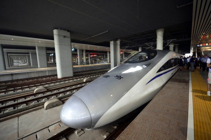 CHINA-JIANGXI-HIGHSPEED RAILWAY-TEST RUN (CN)