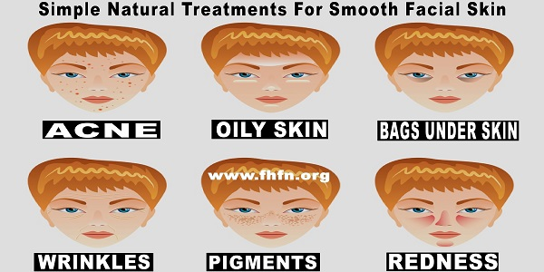 Simple Natural Treatments For Smooth Facial Skin