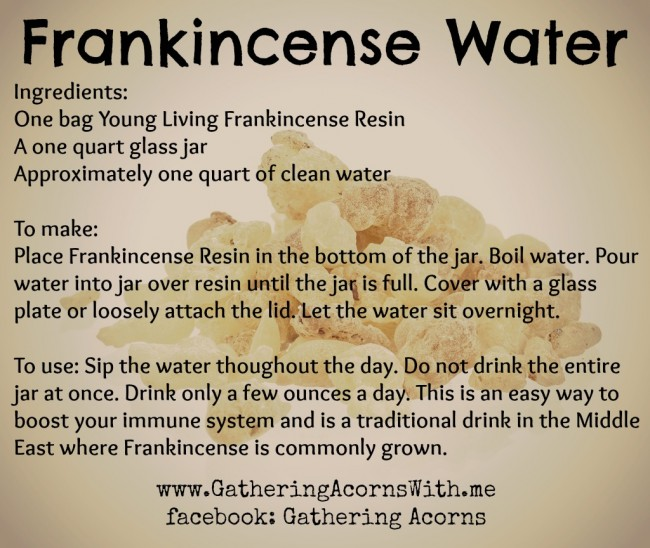frankincense water