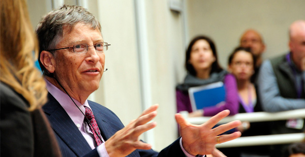 BILL GATES Calls For 'Global Government'