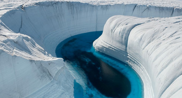 Mysterious Phenomenon Causes Giant Lakes In Greenland To Drain Within Weeks, Scientists Baffled