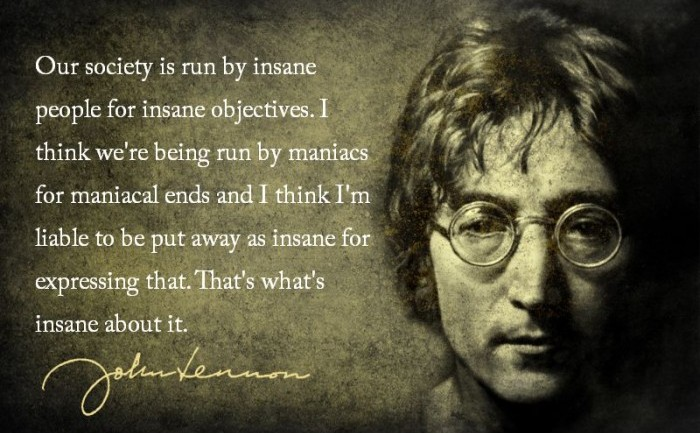 Is The World Run By Psychopaths? See What John Lennon Had To Say About It